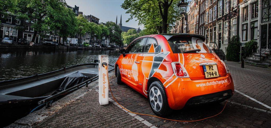 voor het eerst elektrisch rijden
